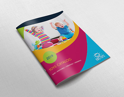Toys Products Catalog Brochure Template - 28 Pages