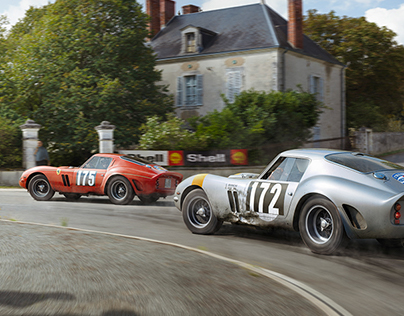 Ferrari 250 GTO - Silver Stallion Racing For Victory