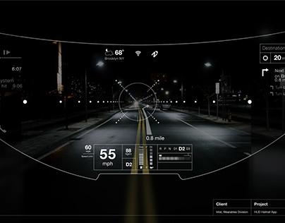 Helmet UI / Augmented Reality Interface