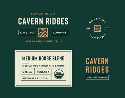Cavern Ridges Roasting Company Brand Identity