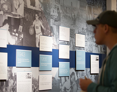 Exhibition Timeline—100 Years of Higher Education