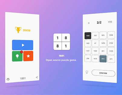 1881 - Puzzle Game [Open Source]