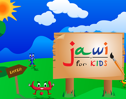 INTERACTIVE CD JAWI FOR KIDS