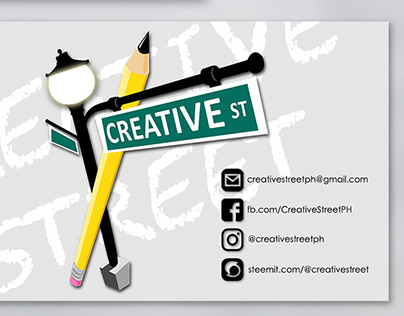 Creative Street: Business Card Proposed Designs