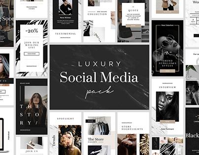 Luxury Instagram Stories