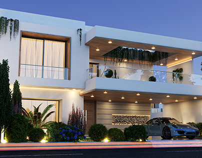 Residential Project Visualization By HAMD