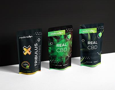 Real Kratom - Packaging