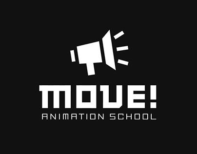 Brand identity and animation for MOVE animation school
