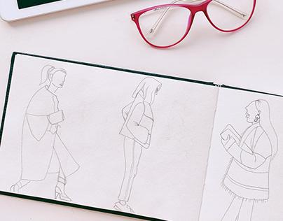 Sketchbook Vol.1: Fashion