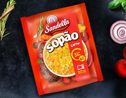 Embalagem Sopão Sandella
