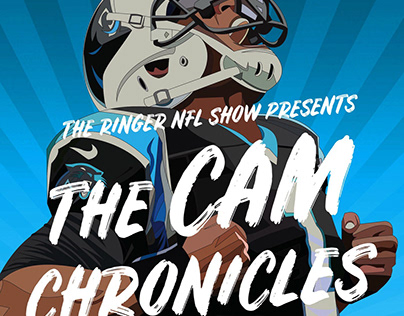 """The Cam Chronicles"" Podcast Image (Ringer License)"