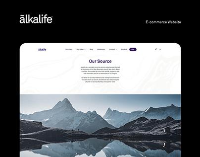 Alkalife Website