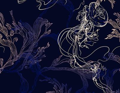 Jellyfish Indigo