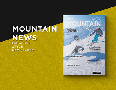 Mountain News magazine-style newspaper for Shahdag №2