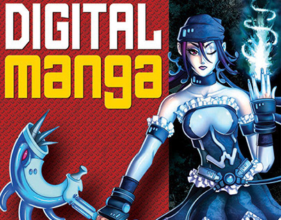 Digital Manga Book