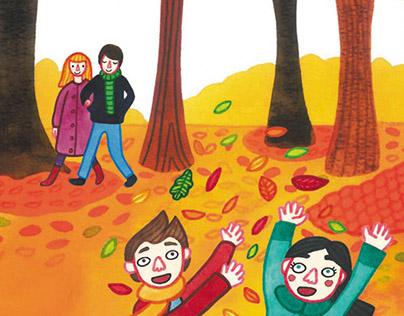 Speel je Wijs - Book illustrations