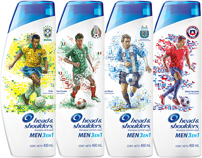 Head & Shoulders: World Cup Limited Edition Packaging