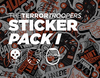 The Terror Troopers: Sticker Pack I