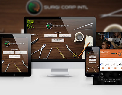 Web Design & Development - Surgi Corp Intl