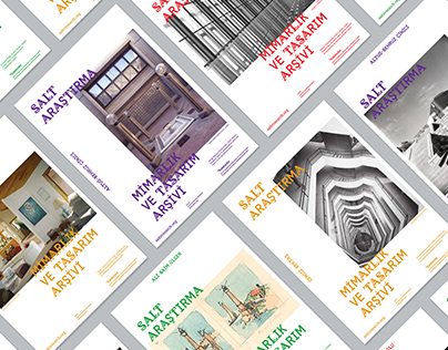 SALT Research Architecture and Design Archive Posters