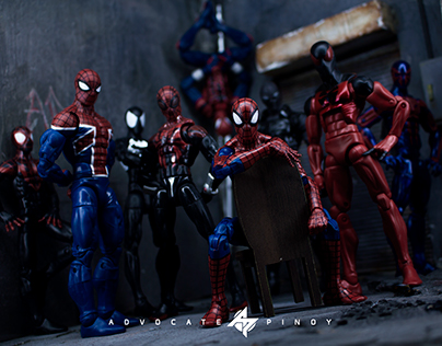 Marvel's Spider-Verse Toy Photography