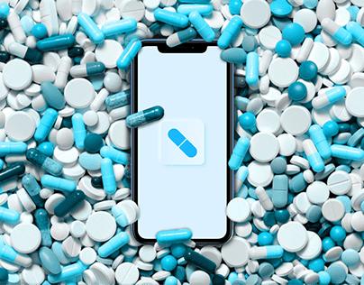 PharmaGO || Mobile UX/UI, Web Design