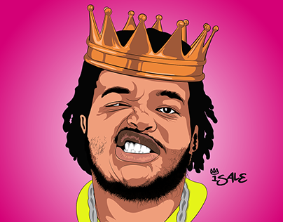 Beatbox King Illustration