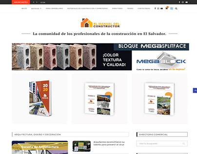 E-commerce con blog incluido