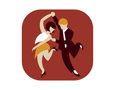 Illustration for Swing Dance