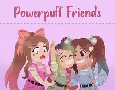 Commission - Powerpuff Friends