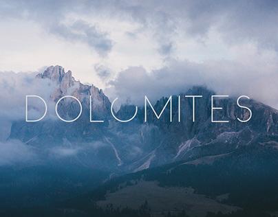 Dolomites || October, 2018