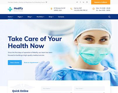 Awesome Health & Clinic WordPress Theme