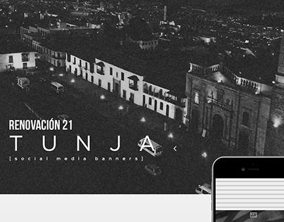 Social Media Banners Design R21 Tunja