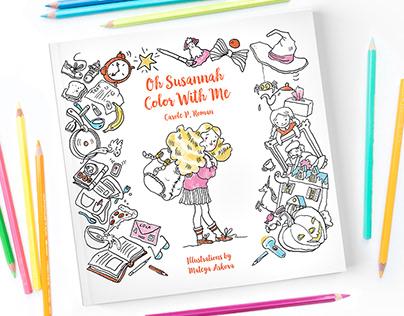 Oh Susannah coloring book
