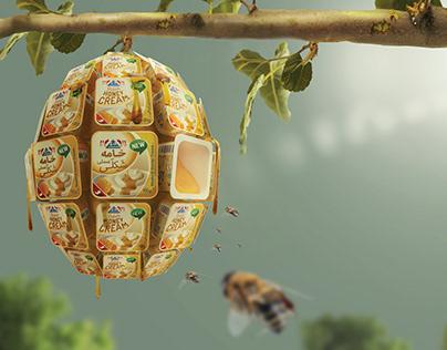 The original honey-cream
