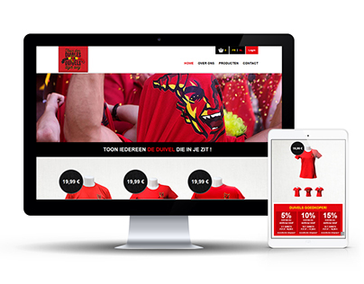 Responsive design for an e-commerce website - TDD