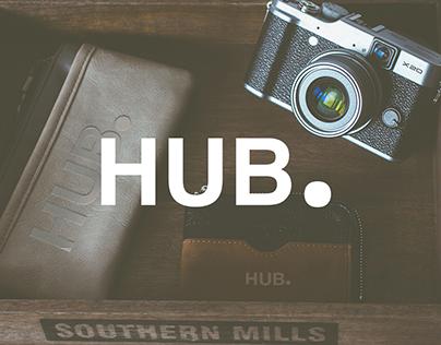 HubCor. Brand Identity Design