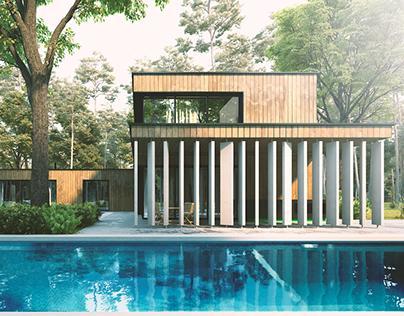 Skywood House in Guadalajara,Mexico.