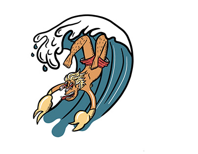 Scorpion of the sea
