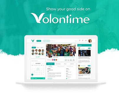 Volontime - Social Web App for Volunteer Opportunities