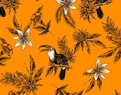 Exclusive Pattern - Fauna and Flora
