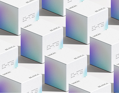 magia blanca | candle packaging & logo concept