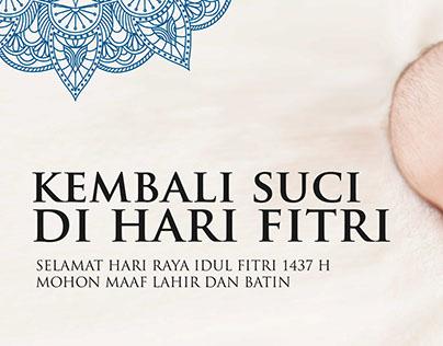 Idul Fitri 1437 H