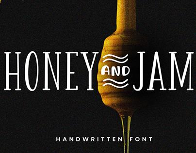 Honey and Jam - Free Handwritten Font