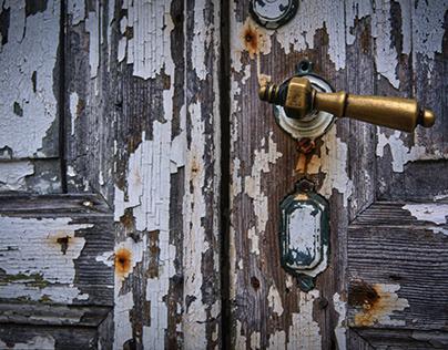 old door close-up