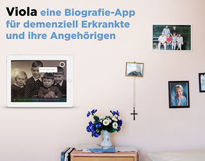 biography app for dementia patients and caregivers