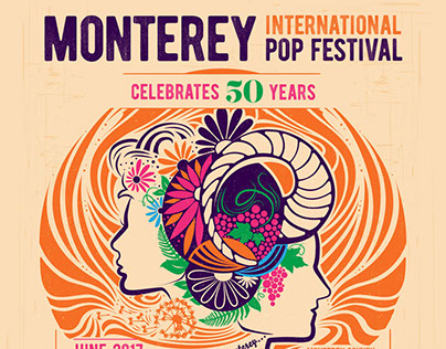 Monterey International Pop Festival Identity