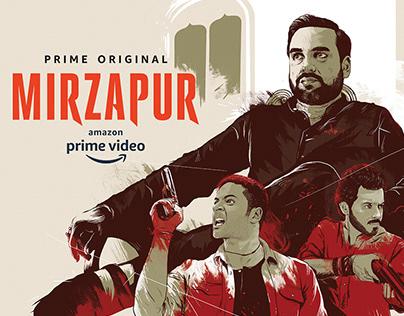 Mirzapur alternative poster
