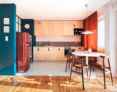 kroniki • Sopot midcentury modern apartment