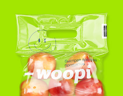 Woopi Delivery | Branding